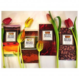 Dark Forest Chocolate Bars