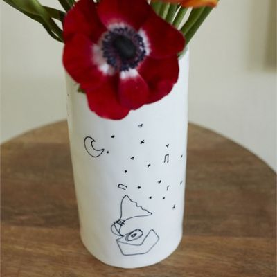 To the Moon and Back Vase