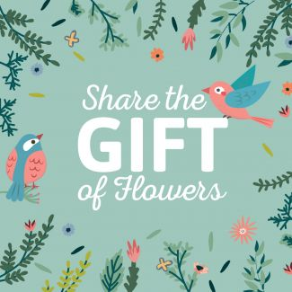 A Gift of Flowers - Gift Card
