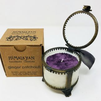 Ginger Patchouli Victorian Jar Candle